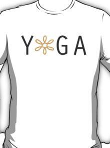 Yoga- Orange T-Shirt