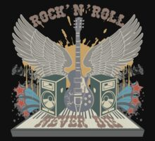 Rock n Roll Will Never Die by SonicContours