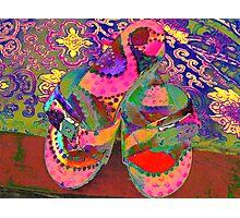 Happy Feet  Photographic Print