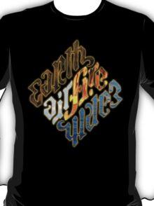 The Four Elements - Illuminati T-Shirt