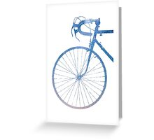 Crescent Bike Galaxy Greeting Card