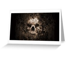 Horror Skull  Greeting Card