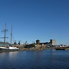 Leith Docks by Bondbloke