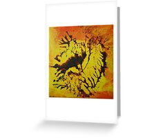 """Savannah"" original artwork by Laura Tozer Greeting Card"