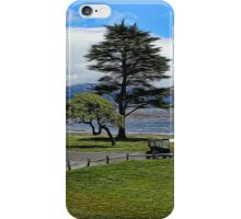 Pebble Beach Painted iPhone Case/Skin