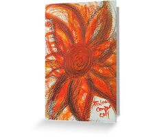 Sunrise in Pencil & Watercolor  Greeting Card