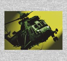 Sea King commando helicopter in action  Kids Clothes