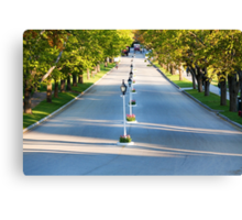 Cadotte Ave Leading to Grand Hotel on Mackinac Island Canvas Print
