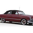 1949 Ford Custom Convertible by DaveKoontz