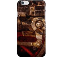Vintage steam train gear iPhone Case/Skin