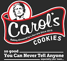 Carol's Cookies. Photographic Print
