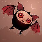 RedEye the Vampire Bat Boy by fizzgig