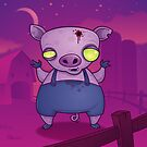 Zombie Pig by fizzgig