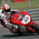 British Superbike rider Michael &quot;The Nutter&quot; Rutter by Mark Greenwood