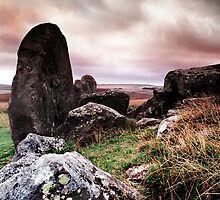 West Kennet Long Barrow by Paul Woloschuk