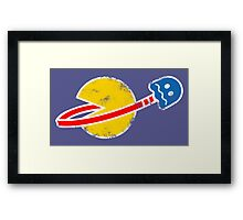 Space(pac)Man  Framed Print