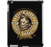Big Foot Pomade iPad Case/Skin