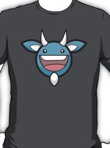 Blueberry Devil Head : Glitchy Bear T-Shirt