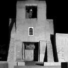 San Miguel Mission, Santa Fe, in Infrared by TheBlindHog