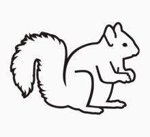 Cute squirrel Kids Clothes