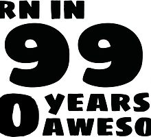 Born in 1995 - 20 Years of Awesome by callmeberty