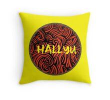 Hallyu - Yellow Throw Pillow