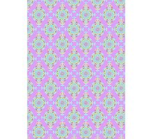 Vintage Moroccan Pattern in Lavender Photographic Print