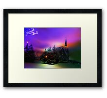 UBI CARITAS: Where charity and Love are .... Framed Print