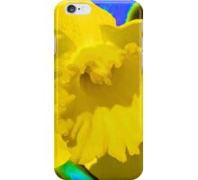 Daffodil Abstract iPhone Case/Skin