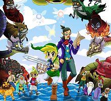 The Legend of Zelda Phantom Hourglass by Lirhya