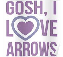 "Hawkeye Comics- ""Gosh, I love arrows."" Poster"