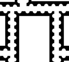 Postage stamps Sticker