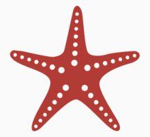 Orange starfish by Designzz