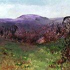 Moorland View 3 by Carol Rowland