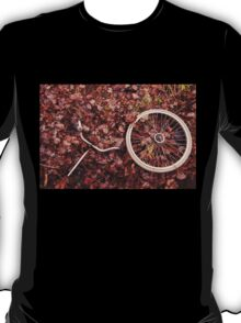 Decomposed bicycle parts T-Shirt