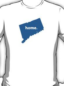 Connecticut Home Blue T-Shirt