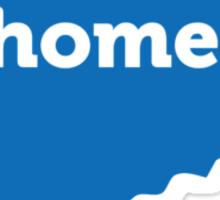 Connecticut Home Blue Sticker
