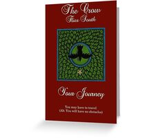 Oracle Card - The Crow - South Greeting Card