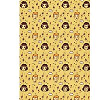 Amelie movie pattern  Photographic Print