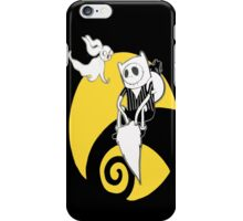 Adventure time with Jack skellington nightmare before christmas iPhone Case/Skin
