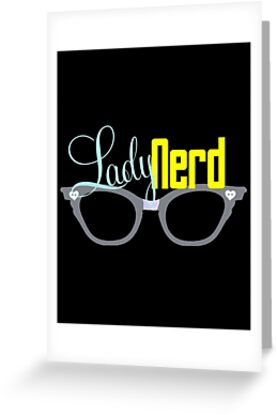 Proud LadyNerd | Grey Glasses by 4everYA