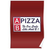 AB Pizza (Bad Blood) Poster