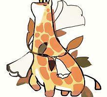 mochi giraffe. by tofuvi