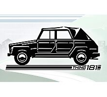 VW Thing 181 Profile Photographic Print