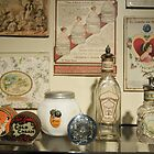 Antique Perfume Bottles by Cathryn  Lahm