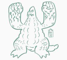 DAIKAIJU LORD - GREEN by mustachiosaurus