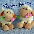 Happy Easter Lambs by Susan S. Kline