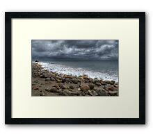 Sea Wash Framed Print