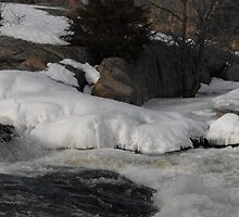 Burleigh Falls Ontario Canada by Les Wazny