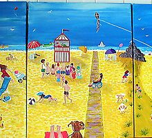 Another Day At The Seaside by Sandy Wager